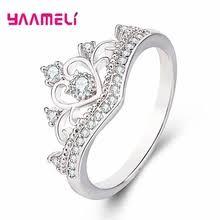 <b>925 sterling</b> silver and <b>zircon</b> ring female — купите <b>925 sterling</b> ...