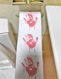 Mimgo-shop <b>Halloween</b> Novelty Gift Toilet Paper Bloody <b>Zombie</b> ...