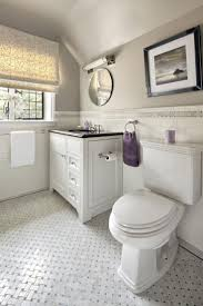 subyway color combination traditional bathroom floor