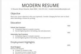 resume template google docs 19 google resume format