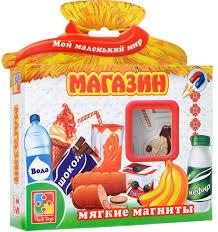 Купить <b>Мягкие магниты Vladi Toys</b> Магазин