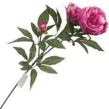 <b>Цветок искусственный декоративный</b> Пион малиновый 16-0015 ...