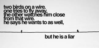 Quotes On A Wire Bird. QuotesGram