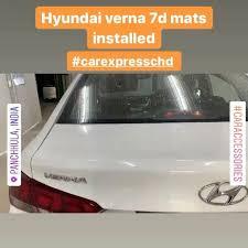 Hyundai verna <b>high quality 7d</b> mats made... - CareXpress Steam car ...