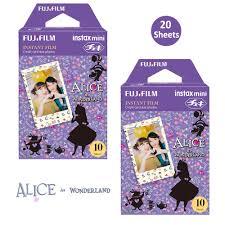 <b>Fujifilm</b> Instax Mini <b>Color Film</b> 20 Prints (2 Packs) Alice in ...