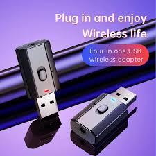 <b>Bluetooth</b> Dongle Adapter 5.0 Wireless Music Audio Transmitter ...