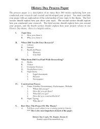 best photos of nhd process paper   national history day process  history process paper examples