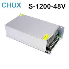 1200W 25A <b>48V switching power</b> supply 220v 110v ac to <b>48v dc</b> ...