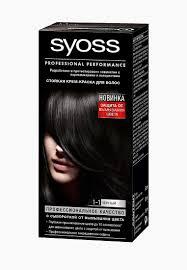 <b>Краска для волос Syoss Color</b> 1-1 Черный, 50 мл купить за 350 ...