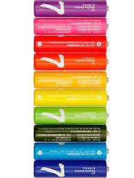 <b>Батарейки</b> алкалиновые <b>Xiaomi</b> (<b>MI</b>) Rainbow <b>AAA</b> (10 шт) <b>MI</b> ...
