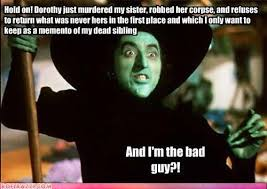 Wizard of Oz is a pretty messed up story, honestly. This is why I ... via Relatably.com