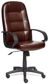 <b>Кресло офисное TetChair</b> «<b>Devon</b>» (Искусств. коричн. кожа 2 TONE)