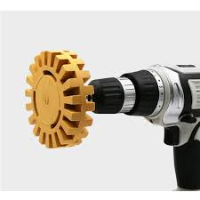 <b>New</b> 4 inch Auto Repair Paint Tool <b>Rubber Eraser Wheel</b> for ...