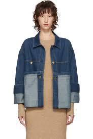 Acne <b>Studios</b> - <b>Blue</b> Blå Konst Denim Hemel Jacket