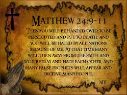 Image result for MATTHEW 24: 3