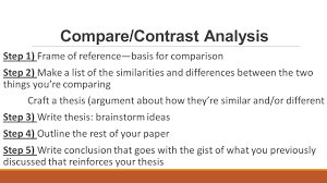 how to write a comparison contrast essay definition steps to comparison contrast essay comparison contrast essay comparison contrast essay