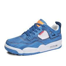 Men Classical Denim Solid <b>Casual Fashion</b> Air-Cushion Sneakers ...