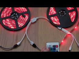 <b>10M</b> SMD 3528 <b>Waterproof RGB</b> 600 LED Strip Light - YouTube