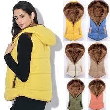 M-3XL 6 Colors <b>Autumn Winter</b> Slim Velvet <b>Women Vest Jacket</b> ...