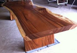 wood slab dining table beautiful: beautiful slab wood dining table dining room tables galleries