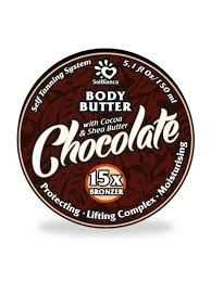 Твердое <b>масло</b> - <b>автозагар Шоколад</b> серия Body Butter 150 г ...