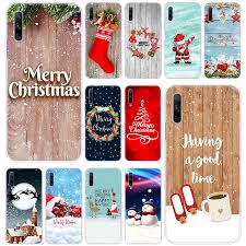 Happy <b>New Year</b> merry <b>Christmas Silicone</b> Case for Huawei Honor ...
