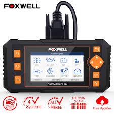 <b>Foxwell NT634 OBD2</b> Diagnostic Tool Four System Check DPF SAS ...
