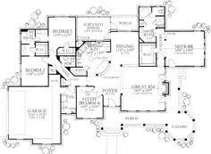 images about house plans on Pinterest   House plans  Square    Love love love this plan  A lot of house packed into square feet  Inc  option for stairs to basement off hall  Shuffle things around in MBR to include