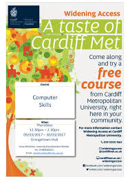 computer skills week course brg cardiff event navigation