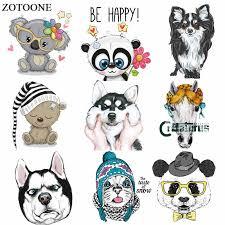 ZOTOONE Cute Animal Owl <b>Bear Patch</b> Iron on Transfers for ...