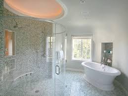 ceramic tile for bathroom floors: bathroom floor buying guide dp bruce rosenblum transitional round bathroom sxjpgrendhgtvcom