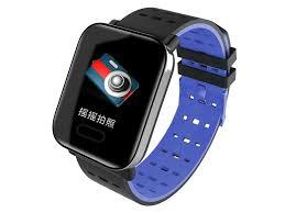 <b>Умные часы A6</b> Light-Blue - Агрономоff