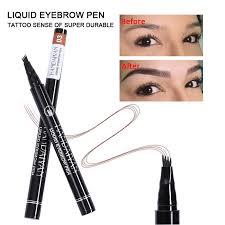 5 Color Microblading <b>Eyebrow</b> Pencil Waterproof Fork Tip Tattoo ...