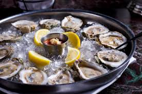 Image result for oysters on the half shell