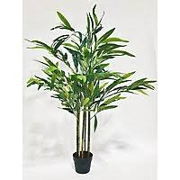 <b>Artificial Bamboo Plant In</b> Black Pot 1.4m | Home | George at ASDA