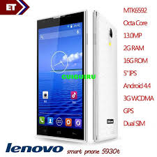 2016 Original Lenovo S930t MTK6592 Octa Core 13.0MP 2G RAM ...