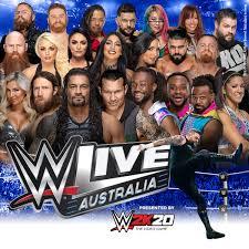 WWE Live - Rod Laver Arena