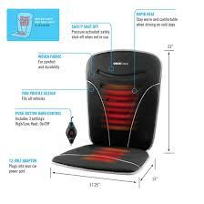 <b>Heated Car</b> Backrest & <b>Seat Cushion</b> - ObusForme Canada