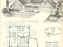 Ranch Style House Plans s House Plans Vintage  antique     Ranch Style House Plans s House Plans Vintage
