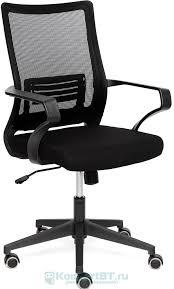 Купить Офисное <b>кресло TetChair Mesh-4 ткань</b>, черный в г ...