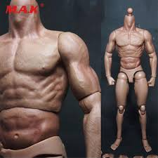 <b>1/6 scale male man</b> body figure military chest muscular body similar ...