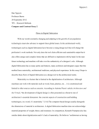 cover letter contrast and compare essay examples compare and cover letter compare and contrast essay sample college reflective thesiscontrast and compare essay examples large size