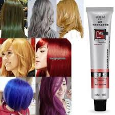 <b>100ml Professional</b> Long Lasing <b>Permanent Hair</b> Dye Bright <b>Hair</b> ...