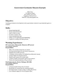 contractor resume examples job sample resumes contractor resume examples
