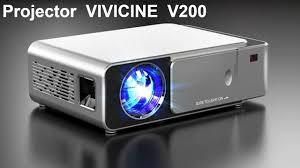 Projector <b>VIVICINE</b> V200 (Link in Description) - YouTube