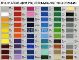 Пленки <b>Oracal</b> Orafol в Оренбурге 🥇