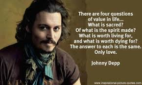Johnny Depp Quotes Funny. QuotesGram via Relatably.com