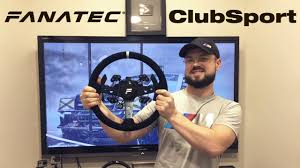 Overview of the Hi-End <b>Steering Wheel</b> Fanatec ClubSport Steering ...