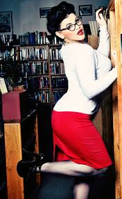 Image result for sexy librarian