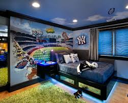 admirable teenage bedroom furniture for boys using black blue bed and green fur rug combined with boys teenage bedroom furniture